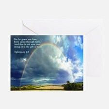 Ephesians 2:8 Greeting Card