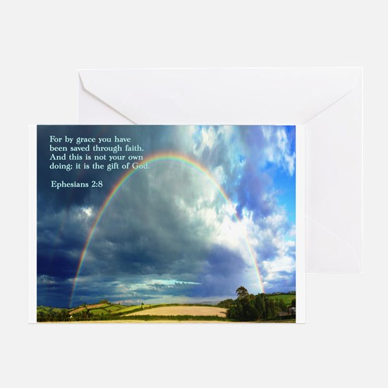 Ephesians 2:8 Greeting Card