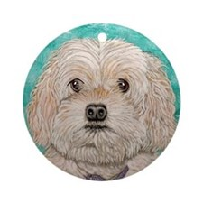 Cockapoo Ornament (Round)