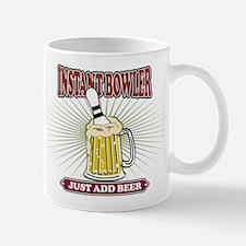Instant Bowler Just Add Beer Mug