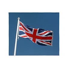 Union Jack Flag Throw Blanket