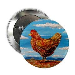 """Willie's Chicken 2.25"""" Button"""