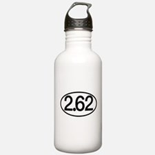 2.62 Marathon Humor Water Bottle