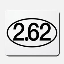 2.62 Marathon Humor Mousepad