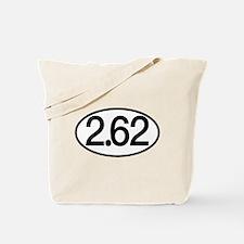 2.62 Marathon Humor Tote Bag