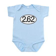 2.62 Marathon Humor Infant Bodysuit