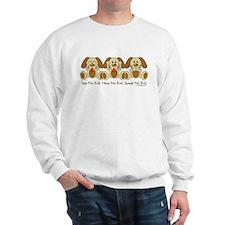 No Evil Puppies Sweatshirt