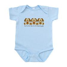 No Evil Puppies Infant Bodysuit