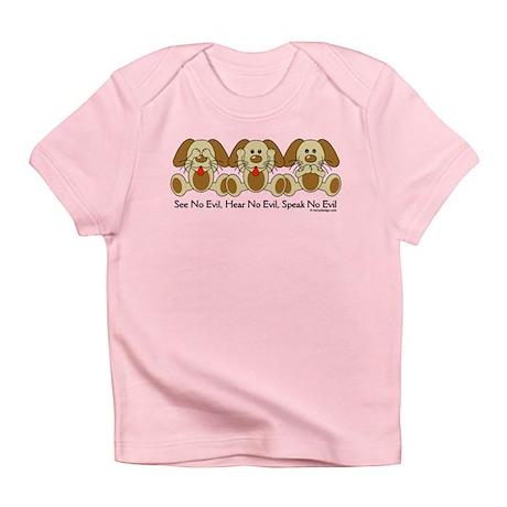 No Evil Puppies Infant T-Shirt