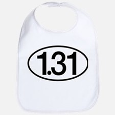 1.31 Half Marathon Humor Bib