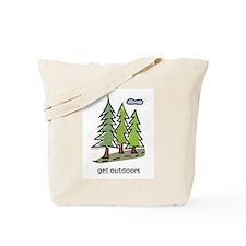 Cute Hiking Tote Bag