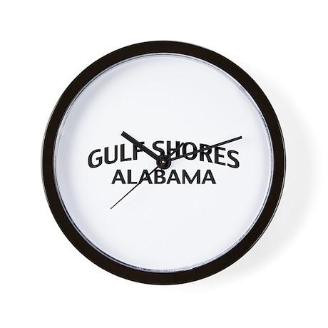 Gulf Shores Alabama Wall Clock