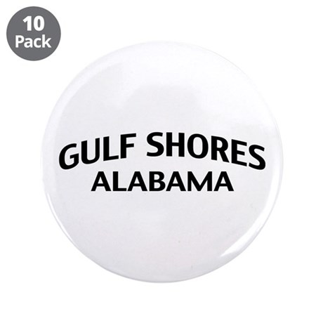 "Gulf Shores Alabama 3.5"" Button (10 pack)"