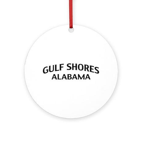 Gulf Shores Alabama Ornament (Round)