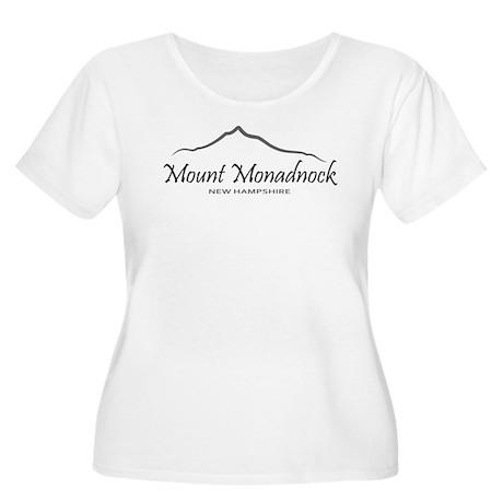 Mount Monadnock Women's Plus Size Scoop Neck T-Shi