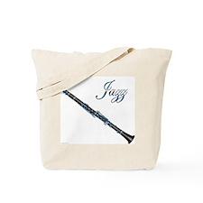 Jazz Clarinet Tote Bag