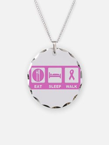 Eat Sleep Walk Necklace