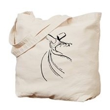 Whirling Sufi Dervish Tote Bag