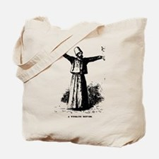 Whirling Sufi Dervish Tote Bag