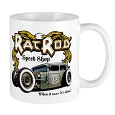 Rat Rod Speed Shop 66 Mug