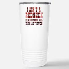 I Ain't a Redneck Travel Mug