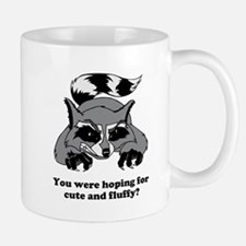 Raging Raccoon Small Small Mug