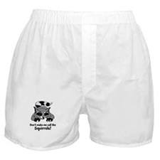 Call the Squirrels Boxer Shorts
