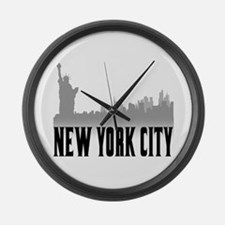 New York City Large Wall Clock