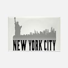 New York City Rectangle Magnet (10 pack)
