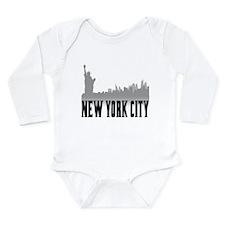 New York City Long Sleeve Infant Bodysuit