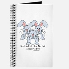 No Evil Bunnies Journal