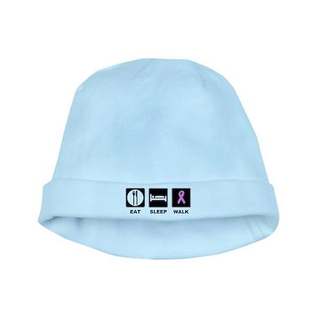 Eat Sleep Walk baby hat