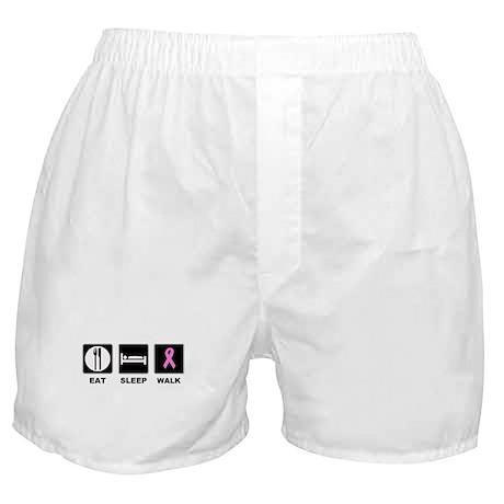 Eat Sleep Walk Boxer Shorts