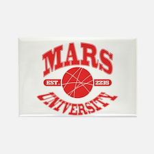 Mars U Rectangle Magnet
