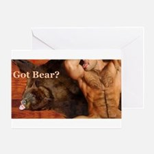 Got Bear? AriesArtist.com Greeting Card