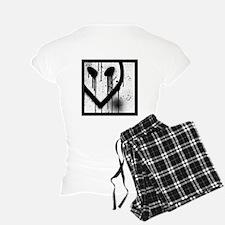 Alien Glyphs pajamas