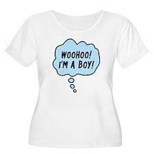 Woohoo! I'm A Boy! T-Shirt