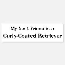 Curly-Coated Retriever Bumper Bumper Bumper Sticker