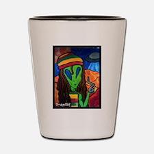 Funny Marley Shot Glass
