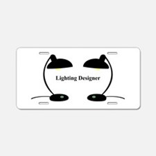 Lighting Designer 3 Aluminum License Plate