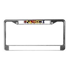Nautical Florida License Plate Frame