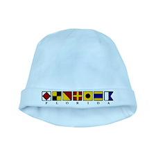 Nautical Florida baby hat