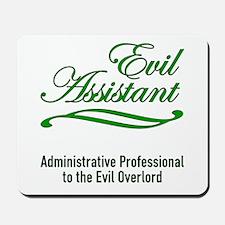 Evil Assistant Mousepad