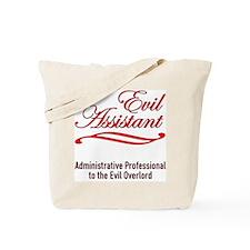 Evil Assistant Tote Bag