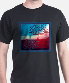 Unique Upside down tree T-Shirt
