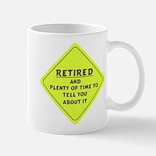 Retired Caution Sign Mug