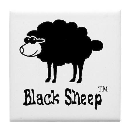 Black Sheep (tm) Tile Coaster