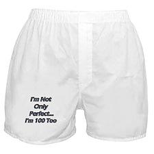 Cute 100 year birthday Boxer Shorts