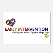 Early Intervention (Autism) Postcards (Pack of 8)