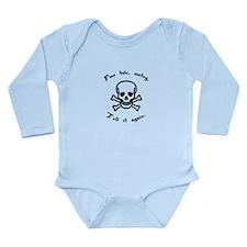 Fine Tale Matey Long Sleeve Infant Bodysuit
